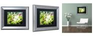 "Trademark Global PIPA Fine Art 'Tranquil China Violet' Matted Framed Art - 11"" x 14"""