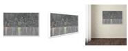 "Trademark Global Viz Art Ink 'Reflecting San Diego' Canvas Art - 12"" x 19"""