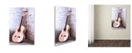 "Trademark Global The Macneil Studio 'Guitar' Canvas Art - 12"" x 19"""