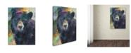 """Trademark Global Richard Wallich 'Art Bear' Canvas Art - 14"""" x 19"""""""
