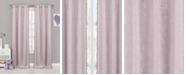 """Duck River Textile Tucker 37"""" x 84"""" Faux Suede Blackout Curtain Set"""