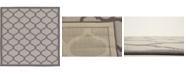 Bridgeport Home Pashio Pas5 Gray 6' x 6' Square Area Rug
