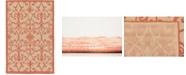 "Bridgeport Home Pashio Pas5 Terracotta 3' 3"" x 5' Area Rug"