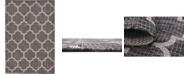 Bridgeport Home Pashio Pas5 Black 4' x 6' Area Rug