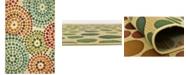 "Bridgeport Home Pashio Pas1 Beige 5' 3"" x 8' Area Rug"