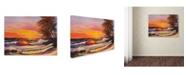 """Trademark Global Manor Shadian 'Hawaiian Glow' Canvas Art - 19"""" x 14"""""""