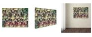 "Trademark Global Mark Ashkenazi 'Vintage' Canvas Art - 18"" x 24"""