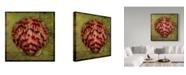 """Trademark Global John W. Golden 'Scallop' Canvas Art - 18"""" x 18"""""""