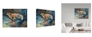 """Trademark Global Marcia Baldwin 'Red Fox Ii' Canvas Art - 24"""" x 18"""""""