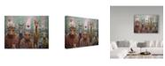"Trademark Global James W. Johnson 'The Untamed' Canvas Art - 19"" x 14"""