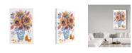 "Trademark Global Irina Trzaskos Studio 'Autumn Florals 4' Canvas Art - 22"" x 32"""