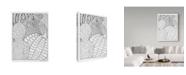 "Trademark Global Jessica Putnam 'Autumn Gourds And Flowers 4' Canvas Art - 24"" x 32"""