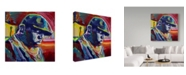 "Trademark Global Howie Green 'Biggie Smalls' Canvas Art - 18"" x 18"""