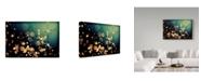 "Trademark Global Incredi 'Fairies In My Garden 2' Canvas Art - 19"" x 12"""