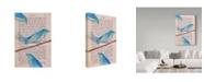"Trademark Global Jane Wilson 'Cuckoo' Canvas Art - 16"" x 24"""