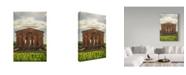 "Trademark Global Jason Matias 'Pantheon Clouds' Canvas Art - 16"" x 24"""