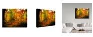 "Trademark Global J.D. Mcfarlan 'Chimneys Trail, Tn' Canvas Art - 19"" x 14"""