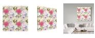 """Trademark Global Jean Plout 'Summer Postcard 2' Canvas Art - 14"""" x 14"""""""