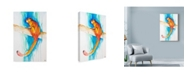 """Trademark Global Marc Allante 'Giant Red Flying Squirrel' Canvas Art - 12"""" x 19"""""""