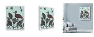 "Trademark Global Maria Pietri Lalor 'Puzzled Red Bird' Canvas Art - 18"" x 24"""