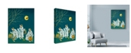 "Trademark Global Peggy Harris 'Boo Bunnies' Canvas Art - 18"" x 24"""