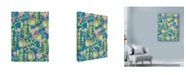 "Trademark Global Lisa Powell Braun 'Winter Cactus Allover' Canvas Art - 18"" x 24"""