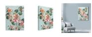 """Trademark Global Marietta Cohen Art And Design 'Flowers Study 3' Canvas Art - 24"""" x 32"""""""