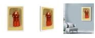 "Trademark Global Philippe Debongnie 'Family Album Prudence' Canvas Art - 12"" x 19"""