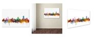 "Trademark Global Michael Tompsett 'Pretoria South Africa Skyline' Canvas Art - 16"" x 24"""