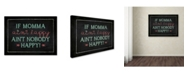 "Trademark Global Stephanie Marrott 'If Momma' Canvas Art - 24"" x 32"""