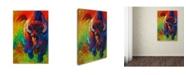 "Trademark Global Marion Rose 'Straight Forward Introduction' Canvas Art - 22"" x 32"""