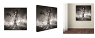 "Trademark Global Erik Brede 'Growing Up' Canvas Art - 35"" x 35"""