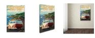 "Trademark Global Lantern Press 'Travel 70' Canvas Art - 22"" x 32"""