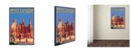 "Trademark Global Lantern Press 'Travel Poster 93' Canvas Art - 30"" x 47"""