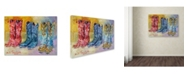 "Trademark Global Richard Wallich 'Cowboy Boots' Canvas Art - 24"" x 32"""