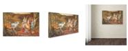 "Trademark Global Vintage Apple Collection 'CA Fairy 24' Canvas Art - 30"" x 47"""