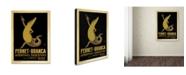 "Trademark Global Vintage Apple Collection 'Fernet Branca' Canvas Art - 24"" x 32"""