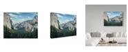 Trademark Global Jeff Tift 'Yosemite Valley' Canvas Art