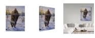 "Trademark Global Jeff Tift 'Intimidation' Canvas Art - 35"" x 47"""