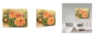 "Trademark Global Joanne Porter 'Double Poppies' Canvas Art - 24"" x 32"""