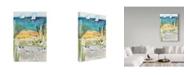 """Trademark Global Karen Fields 'Birds At Shore' Canvas Art - 22"""" x 32"""""""