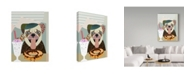 "Trademark Global Lanre Adefioye 'Pug' Canvas Art - 35"" x 47"""