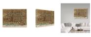 """Trademark Global Vintage Lavoie 'Chicago 1898' Canvas Art - 24"""" x 32"""""""