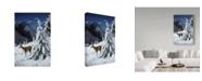 "Trademark Global Ron Parker 'October Snow' Canvas Art - 30"" x 47"""