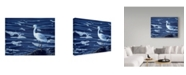 "Trademark Global Ron Parker 'Snowy Egret' Canvas Art - 35"" x 47"""