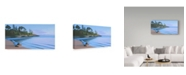 "Trademark Global Ron Parker 'Arbutus Cove Dawn' Canvas Art - 24"" x 47"""