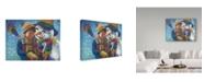 "Trademark Global Tricia Reilly-Matthews 'Eskimo Kiss' Canvas Art - 24"" x 32"""