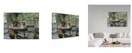 "Trademark Global Pierre Auguste Renoir 'La Grenouillere' Canvas Art - 24"" x 18"""