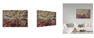 "Trademark Global James W. Johnson 'Paint 1' Canvas Art - 47"" x 30"""