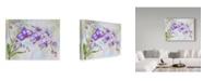 "Trademark Global Jean Plout 'Orchids Purple' Canvas Art - 32"" x 24"""